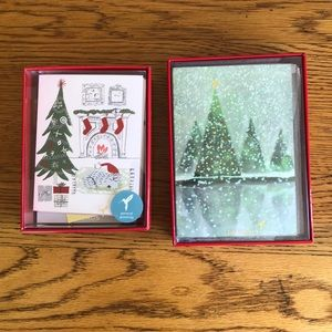 Papyrus Party Supplies - Two sets of Papyrus Christmas Cards, 24 cards.